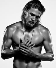 Charlie Hunnam (Jax Teller) - Which has no relevance on this post, but is exceptionally pleasing to look at.