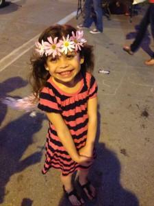 My little flower child.