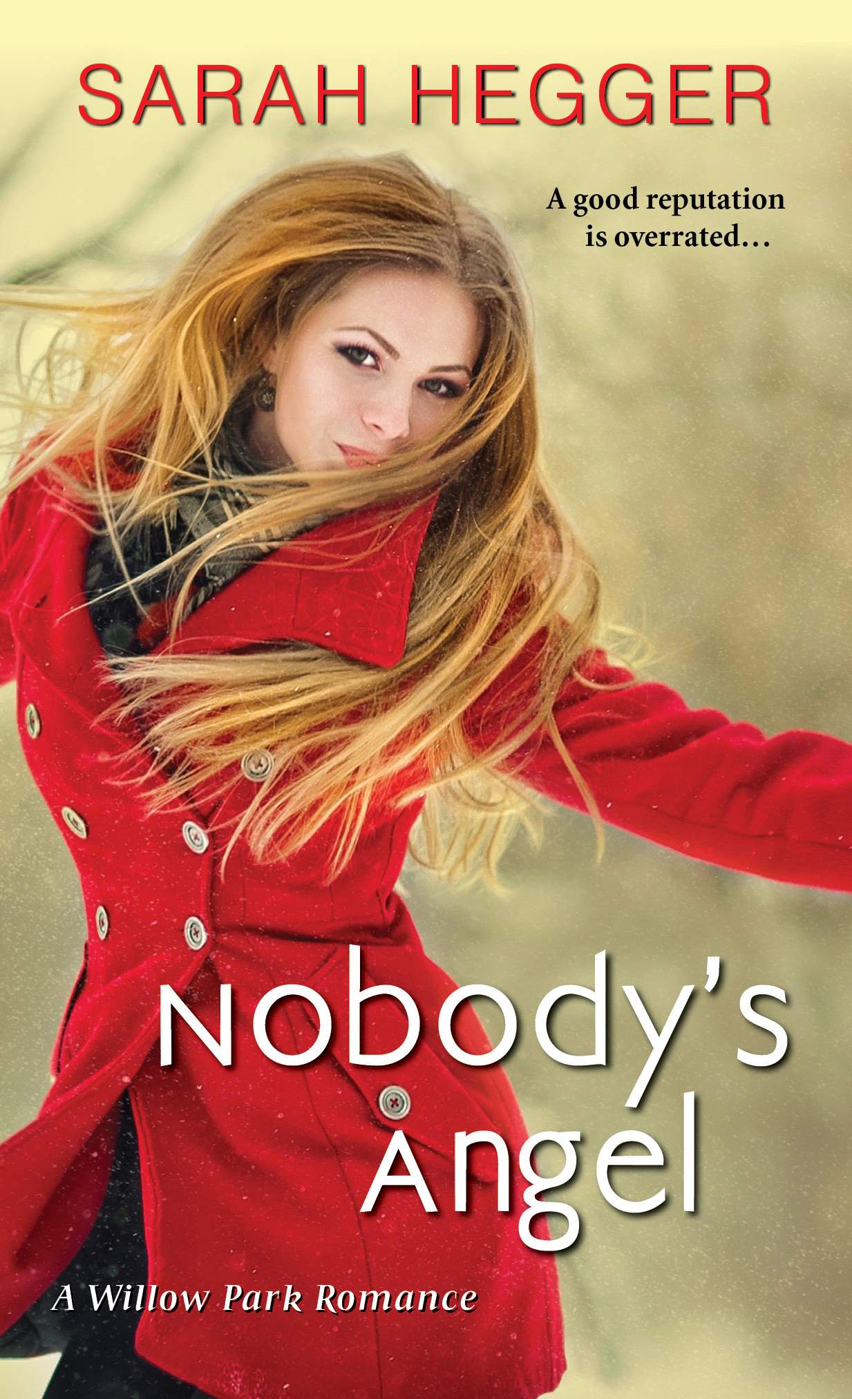Nobody's Angel by Sarah Hegger